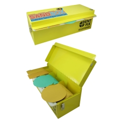 "Dent Fix ""SAND BOX"" Protective Sand Paper Dispenser"