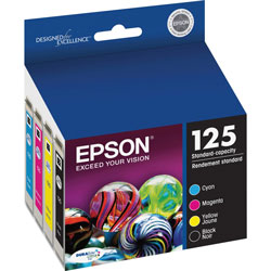 Epson 125 Combo-Pack - Print Cartridge