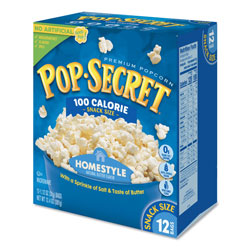 Diamond Pop Secret Microwave Popcorn, Homestyle, 3.5 OZ Bags