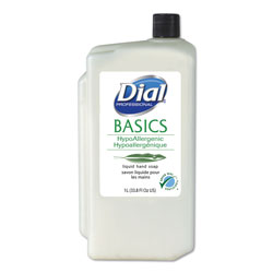 Dial Professional Hypoallergenic Scented Bottled Soap, 34 Oz