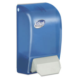 Dial Professional 1 Liter Foam Dispenser, Blue