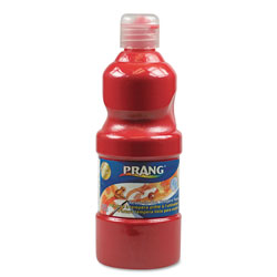 Prang Washable Paint, Red, 16 oz