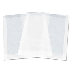 "Dixie Pouchless Maret Sandwich Bag, Paper, 7"" x 6"", White, 1000/PK, 6 PK/CT"