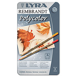 LYRA Artist Colored Woodcase Pencils, Assorted, 12 per Pack