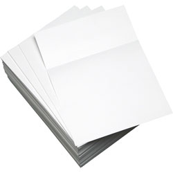 "Domtar Custom Cut-Sheet Copy Paper, 20 Lb, 8 1/2 X 11, White, 3 1/2"", 500 Sheets/Ream"
