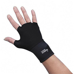 Dome Publishing Company Handeze Support Gloves, Size 4 (Medium), Black