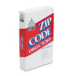 Dome Publishing Company U.S. Zip Code Directory, Paperback, 7 x 4 1/8