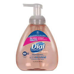 Dial Professional Foaming Hand Wash, Original Formula, Fresh Scent, 15.2 oz, 4/Carton