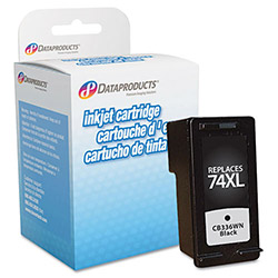 Data Products DPC74XL Remanufactured High-Yield Ink, 750 Page-Yield, Black