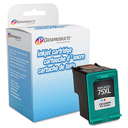 Data Products DPC75XL Remanufactured High-Yield Ink, 520 Page-Yield, Tri-Color