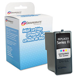 Data Products DPCD453 Remanufactured Ink, 375 Page-Yield, Tri-Color