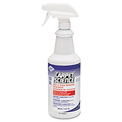Diversey Carpet Science Spot & Stain Remover, 32oz Spray Bottle