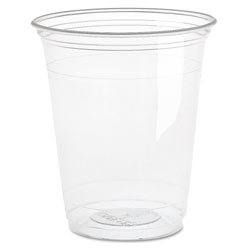 Solo Ultra Clear Cups, Squat, 16-18 oz, PET, 50/Bag, 1000/Carton