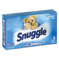 Snuggle Fabric Softener Sheets, 2 Sheets
