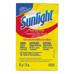 Sunlight Auto Dish Powder, 1.5 oz Single Dose Pouches