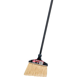 "Diversey MaxiPlus Pro Angle Broom,13"" Head, 48"" Handle, BK"