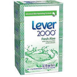 Lever 2000 Perfectly Fresh Moisturizing Bar Hand Soap, 3.15 oz