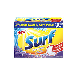 Surf Ultra Powder Laundry Detergent, 50 oz., Spring Burst
