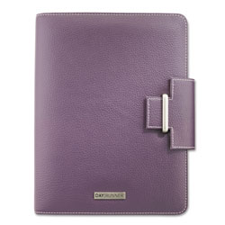 At-A-Glance Terramo Slim-Profile Organizer, One Week/Spread, 5-1/2 x 8-1/2, Eggplant