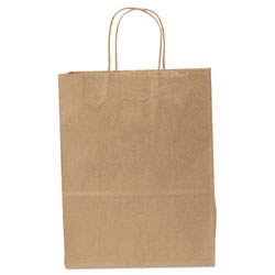 General Paper Shopping Bag, 60lb Kraft, Heavy-Duty 10 x 5 x 13, 250 bags