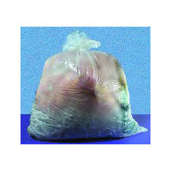 Inteplast Low Density Clear Trash Bags, 55 Gallon, 1 Mil