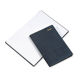 Daytimer Leatherlike Journal, 5 1/2 x 7 3/4, Black