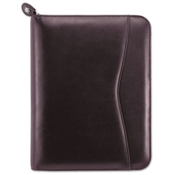Daytimer Verona Leather Starter Set, 5 1/2 x 8 1/2, Burgundy Cover