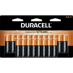 Duracell Batteries, AA, 20 Pack
