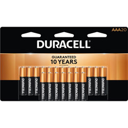 Duracell Batteries, AAA, 20 Pack