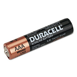Duracell Coppertop Alkaline Batteries, Reclosable, AAA, 20/Pack