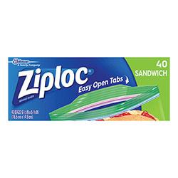 Ziploc® Resealable Sandwich Bags