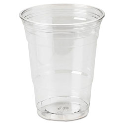 Dixie 16 Oz Cold Plastic Cups, Clear, Pack of 500
