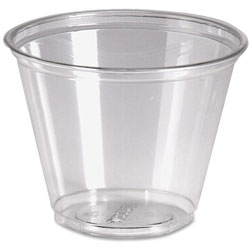Dixie 9 Oz Cold Plastic Cups, Clear, Pack of 1000