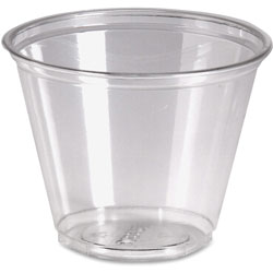 Dixie 9 Oz Cold Plastic Cups, Clear, Pack of 50