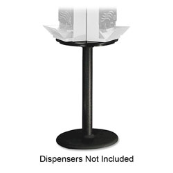 "Dixie SSBASE08 Display Stand, 18""Wx28-1/2""H, Black"