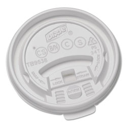 Dixie TB9538X Plastic Lids for Collection 8 Ounce Hot Drink Cups