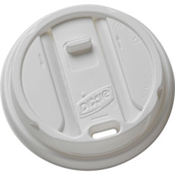 Dixie TP9542 Smart Top Reclosable Lid for 12 - 16 Ounce Cups