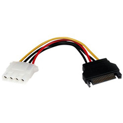 Startech 6in SATA To LP4 Power Cable Adapter