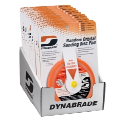 "Dynabrade 6"" Sanding Pad Counter Display (Non-Vacuum)"