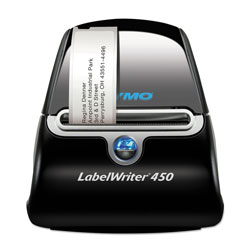 "Dymo LabelWriter 450 Printer, 2-7/16"" Labels, 51 Labels/Min"