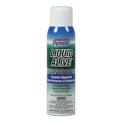 ITW Dymon LIQUID ALIVE Carpet Cleaner/Deodorizer, 20oz, Aerosol