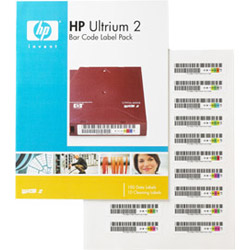 HP 2 Bar Code Label Pack - Bar Code Labels