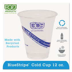 Eco-Products 14 Oz Cold Plastic Cups, Clear, Pack of 1000
