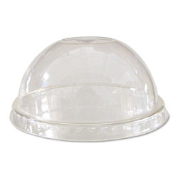 Eco-Products EPDLCC Clear Dome Lids for Corn Cold Cups
