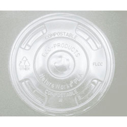 Eco-Products EP-FLCC Renewable Resource Compostable Cup Lids