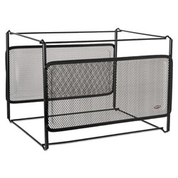 Eldon Expressions Wire Mesh Hanging File Frame Holder, Letter Size, Black