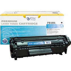 Elite Image Toner Catridge, 2000 Page Yield, Black
