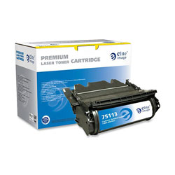 Elite Image Toner Catridge, For Workgroup M5200, 18000 Page Yield, Black