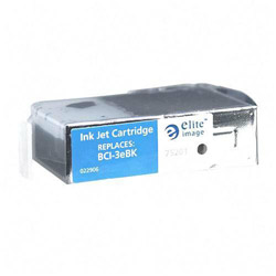 Elite Image 75201 Black Ink Tank for Canon BJ6000, 500 Pages