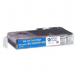 Elite Image 75203 Magenta Ink Tank for Canon BJ6000, 520 Pages